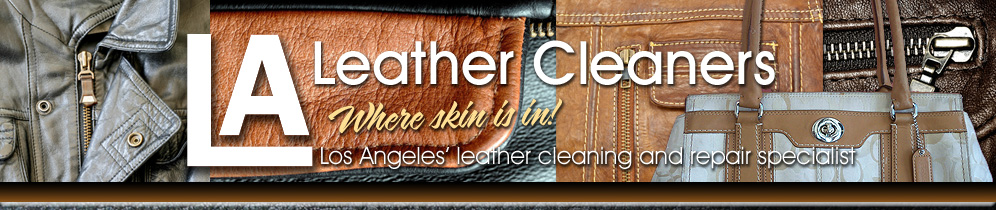 LA Leather Cleaners masthead